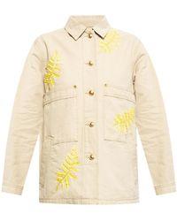 Tory Burch Embellished Denim Jacket - Multicolour
