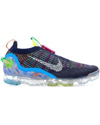 Nike 'air Vapormax 2020 Flyknit' Trainers Multicolour - Grey