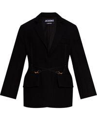 Jacquemus 'la Soco' Blazer - Black