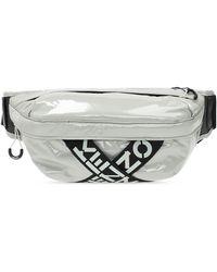 KENZO Branded Belt Bag - Grey