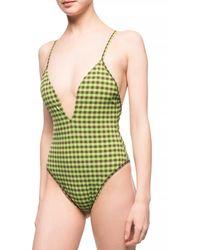 Fendi One-piece Swimsuit - Green