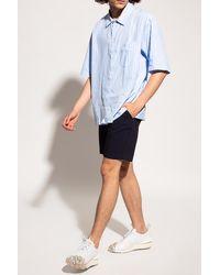 Samsøe & Samsøe Shorts With Pockets - Blue