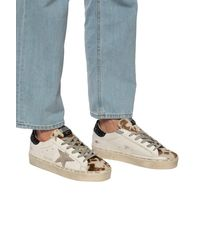 Golden Goose Deluxe Brand 'hi Star' Distressed Sneakers Multicolour