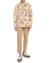 DIESEL S Ronnie Camo Overshirt - Natural