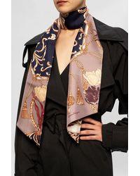 Ferragamo Silk Scarf - Pink