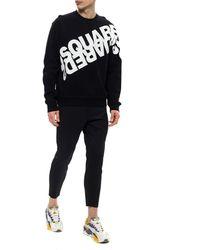 DSquared² Logo-printed Sweatshirt Black