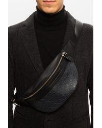 Ferragamo Belt Bag With Logo Black