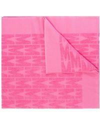 Moschino Bath Towel - Pink