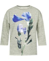 Golden Goose Deluxe Brand - Sweatshirt With Short Sleeves - Lyst