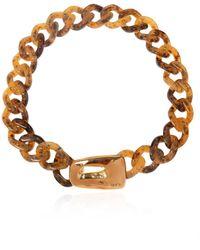 Marni Necklace With Appliqué - Metallic