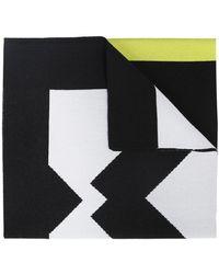 KENZO Scarf With Logo - Black