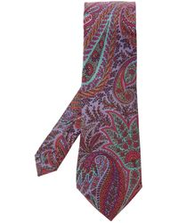 Etro Patterned Tie - Multicolour