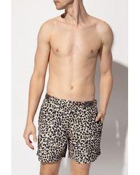 AllSaints 'reserve' Swim Shorts - Natural