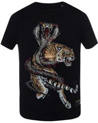Philipp Plein - Encrusted T-shirt - Lyst
