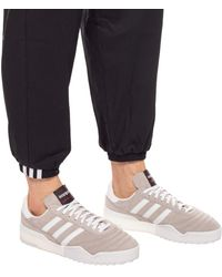 Alexander Wang Taupe B-ball Soccer Sneakers - Gray