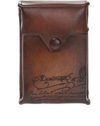 Berluti Cigarette Case - Brown