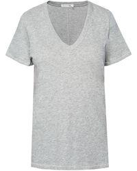 Rag & Bone V-neck T-shirt - Grey