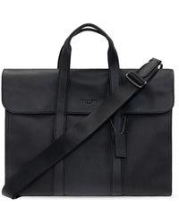 COACH 'metropolitan Portfolio' Laptop Bag Black