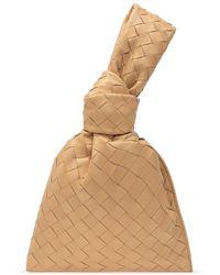 Bottega Veneta 'the Mini Twist' Handbag Beige - Natural