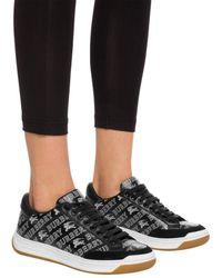 Burberry 'timsbury' Sneakers - Black