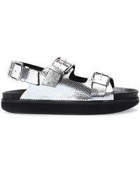Isabel Marant 'ophie' Sandals - Metallic