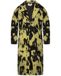 Diane von Furstenberg Peg Wool Oversized Coat - Black
