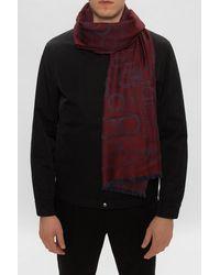Ferragamo Wool Scarf Burgundy - Purple