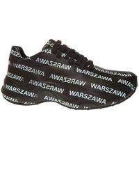 MISBHV 'warszawa Moon' Sneakers - Black