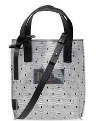 RED Valentino Transparent Shoulder Bag Black