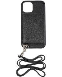 Balenciaga Iphone 12 Pro With Logo - Black