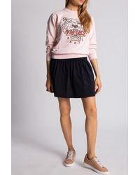 KENZO Sweatshirt With Logo Pink