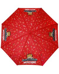 Moschino Teddy Bear Umbrella Unisex Red