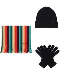 Paul Smith - Hat, Scarf & Gloves Set - Lyst