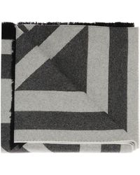Givenchy Branded Scarf - Gray