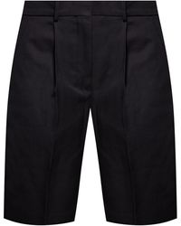 Acne Studios High-waisted Shorts Black
