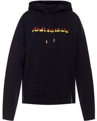 DSquared² Hooded Sweatshirt - Black