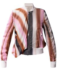 Rick Owens Bomber Jacket Multicolour