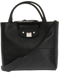 Jimmy Choo 'robin' Shoulder Bag - Black