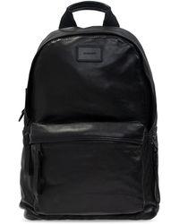 AllSaints 'arena' Leather Backpack - Black
