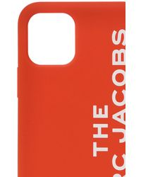 Marc Jacobs Women's The Silicone Iphone 11 Pro Case In Bright Red