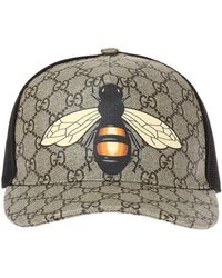 Gucci - Baseball Cap Made Of 'GG Supreme' Canvas - Lyst