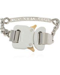 1017 ALYX 9SM Logo Bracelet - Metallic