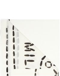 Moschino - Scarf With Logo - Lyst