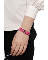 Tory Burch Kira Enamelled Bracelet - Pink