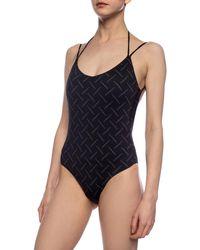 Marcelo Burlon One-piece Swimsuit Black