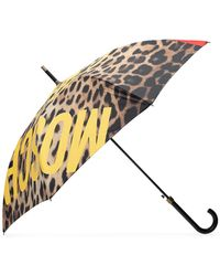 Moschino Umbrella With Logo Unisex Multicolour