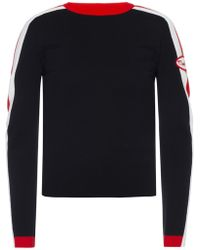 Moschino - Logo-patched Sweater - Lyst