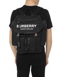 Burberry Men's Ranger Canvas Backpack - Black