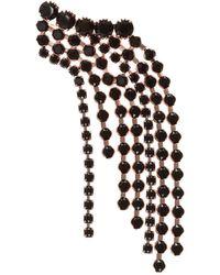 Isabel Marant Brooch With Glass Gemstones - Metallic