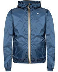 K-Way 'jukes Light Ripstop' Jacket Navy Blue